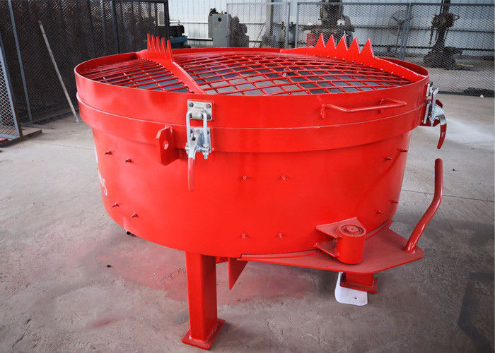 Pan Type Concrete Mixer AC 380v 50HZ Ligtwheight Low Energy Consumption